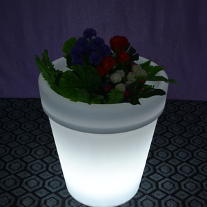 Color Changing LED Light Flower Planter