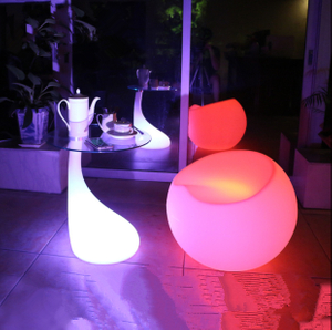 Battery 16 Color Change LED Cocktail Table