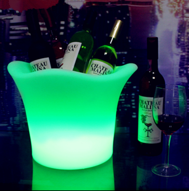Rechargeable LED Ice Bucket with remote control