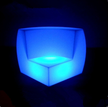 outdoor Remote Control LED Sofa Furniture