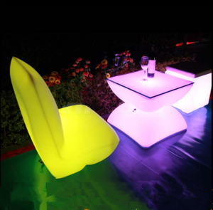 outdoor LED sofa Chair with remote control