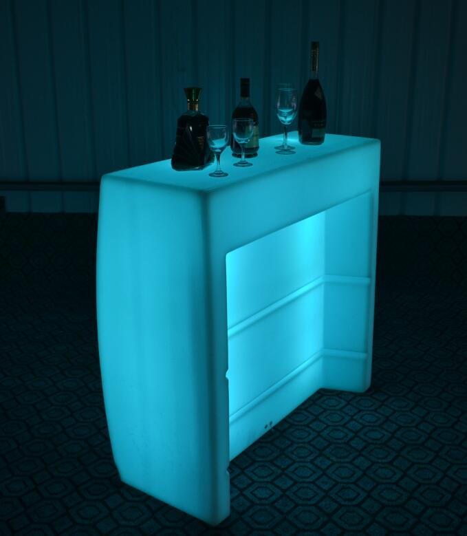 Battery waterproof Illuminated Bar counter