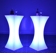 LED Glowing Cocktail Table