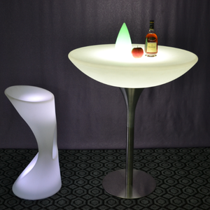 Bar Setup LED Furniture Coffee Cocktail Table