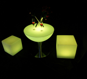 outdoor color change Remote Control LED Cube Chair