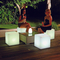 outdoor color change IP65 Comfortable LED Cube Chair