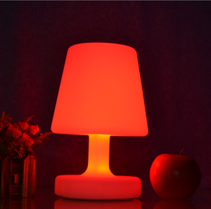 PE remote control colors change LED Decorative Light for Desk Lamp