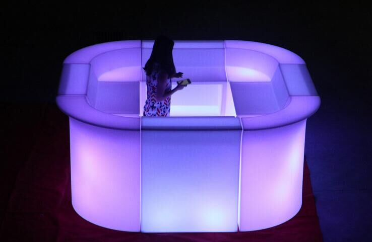 IP65 outdoor colors change luminous Fashion LED Bar Counter
