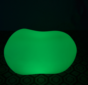 PE colors change Remote Control LED Stool